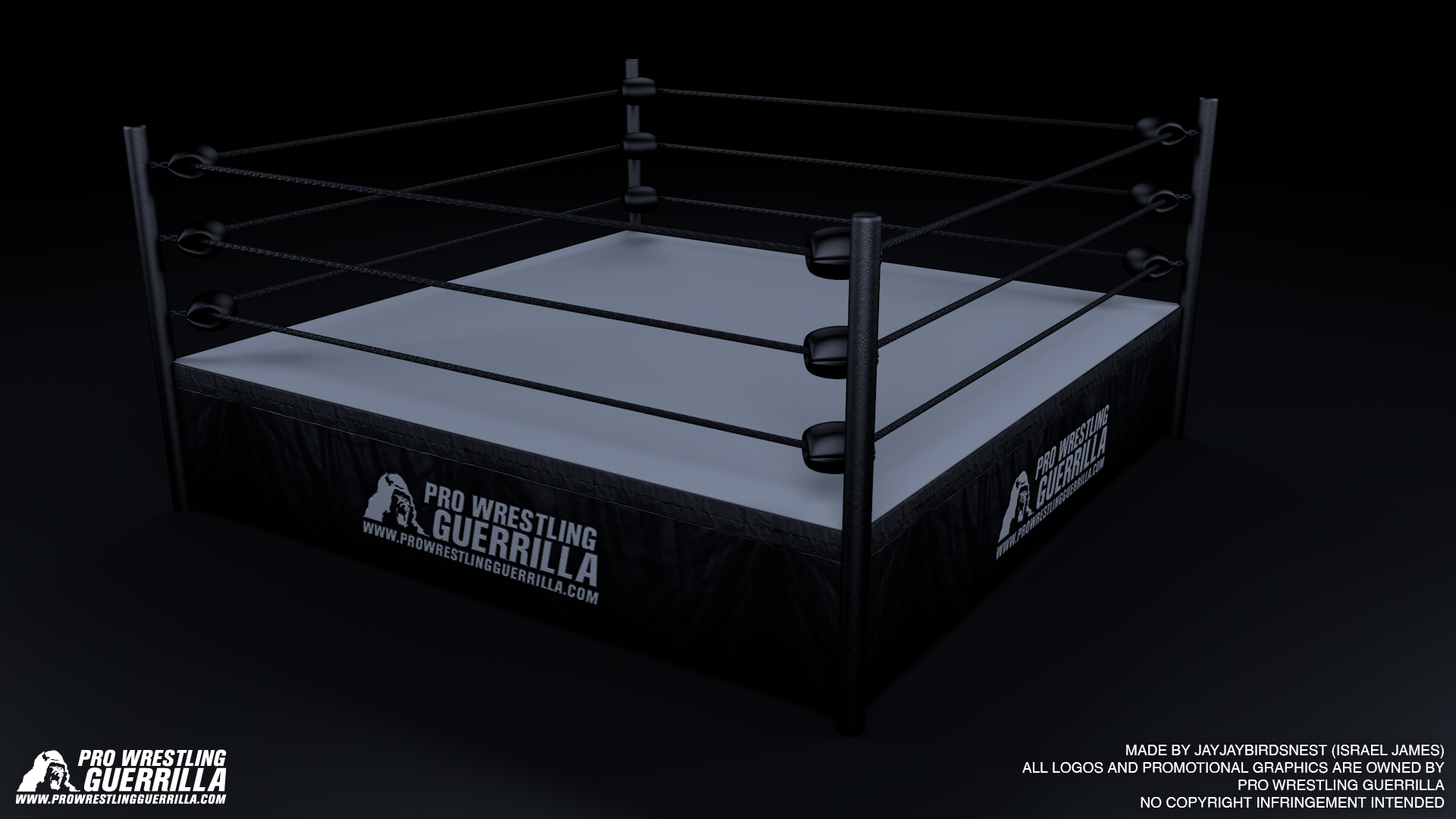New Japan Pro Wrestling Ring Design