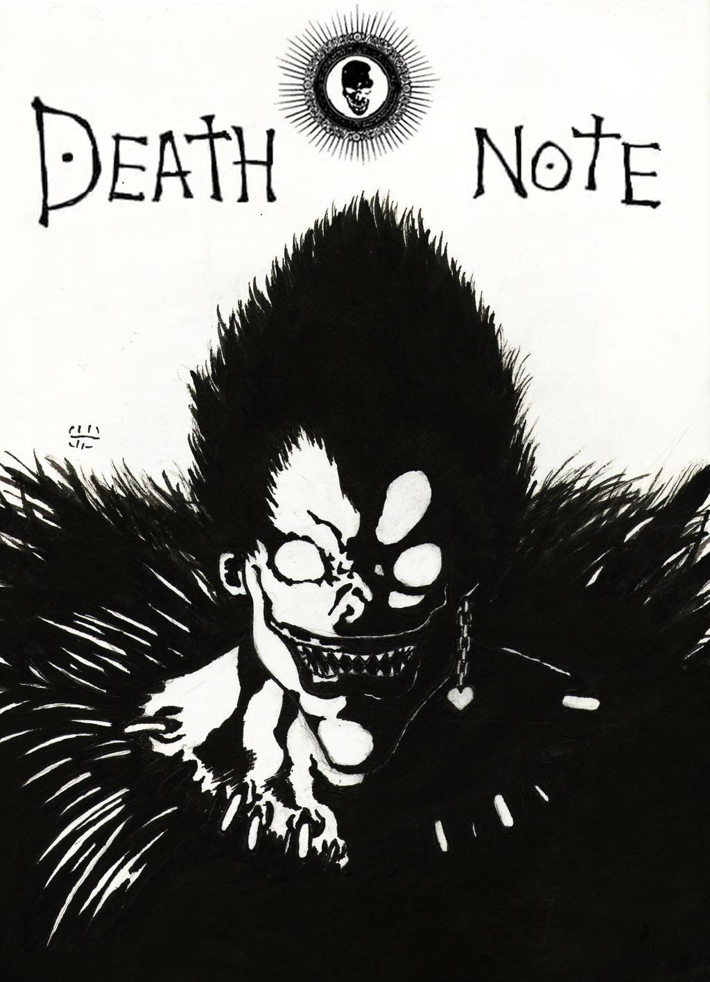 Ryuk- Death Note by wolverineofcomixvn on DeviantArt