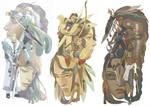 Illustration of 3 tribes