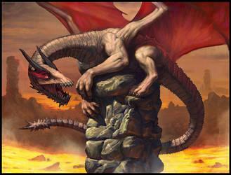 Young dragon by Samarskiy