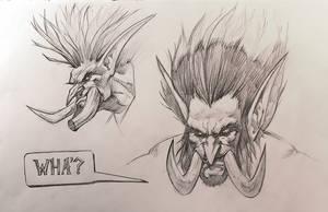 Troll sketches by Samarskiy