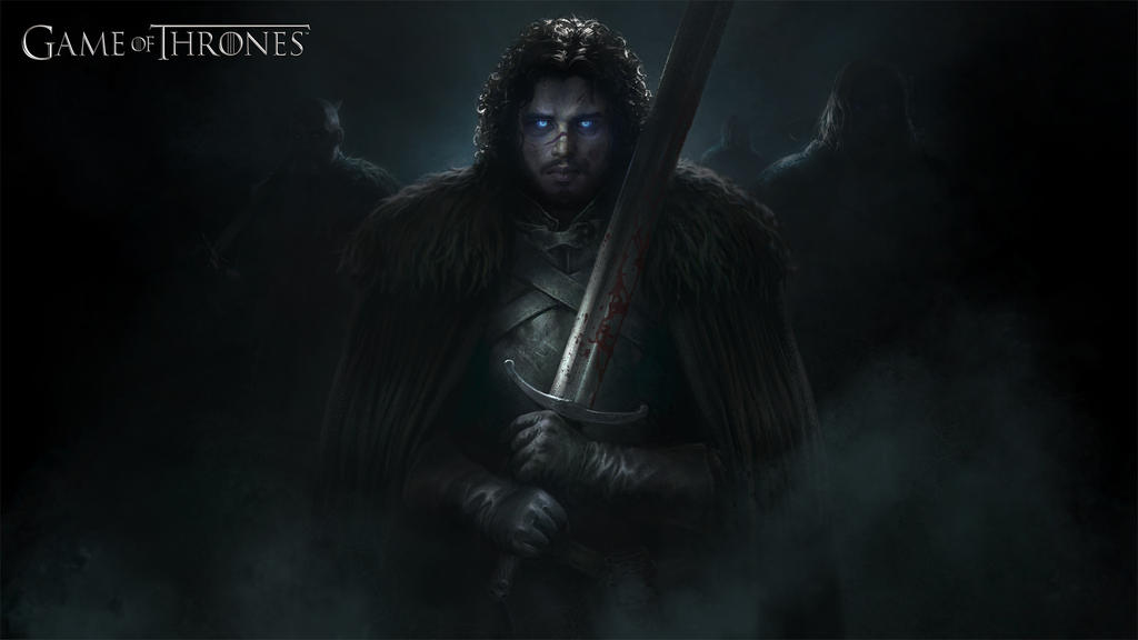 Game of Thrones: Wight Jon by mikrob