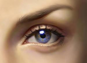 Eye painting - video process