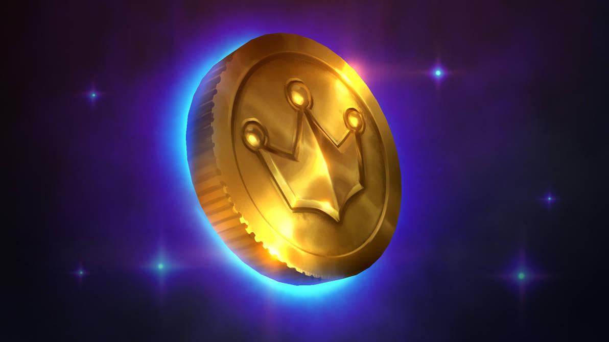 Golden Coin Tutorial by Samarskiy