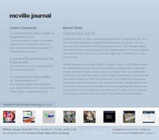 mcville.net journal concept by jabbzilla