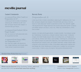 mcville.net journal concept