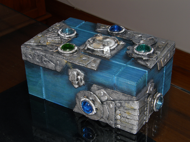 Bejeweled box - front by XofHope