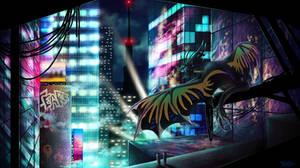 Neon City by Tearraven