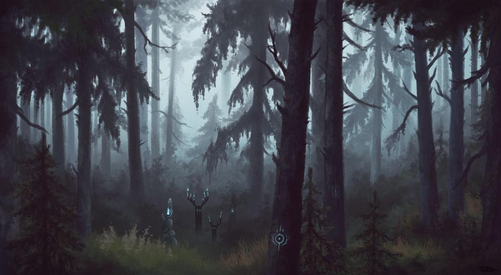 Woods by Tearraven