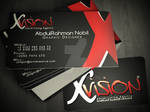 vision Advertising Agency - Personal Card