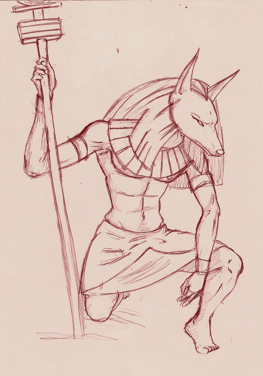 Anubis finished by astrun