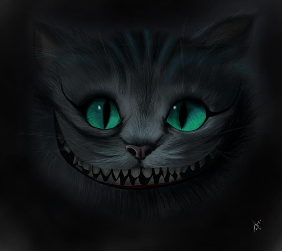 cheshire cat by morganede on deviantart