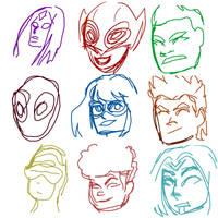 Marvel's Champions (phone sketchs)