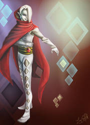 Lord Ghirahim by WhimsyWulf