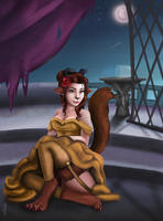 Beast Belle by WhimsyWulf