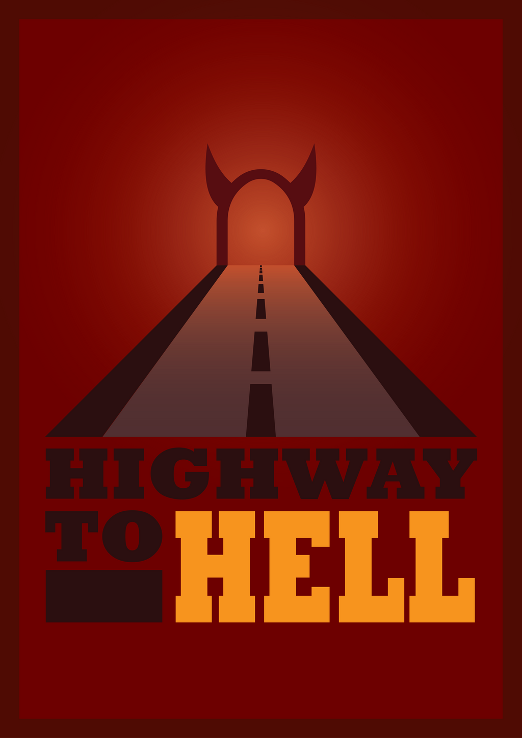 Acdc highway to hell wallpaper
