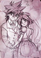 AT: Yuki and Kai Marriage by RiaBodai