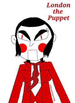 London the Puppet Portrait