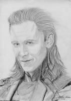 Loki Traditional Art