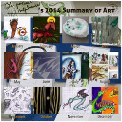 LPN's 2014 Summary of Art by Le-Poireau-Neptunien