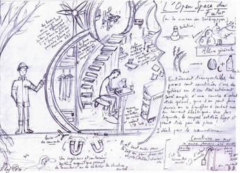 L'Open-Space du Futur by Le-Poireau-Neptunien