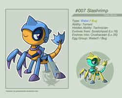 008 Slashrimp by grimarionette