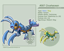 009 Crushacean by grimarionette