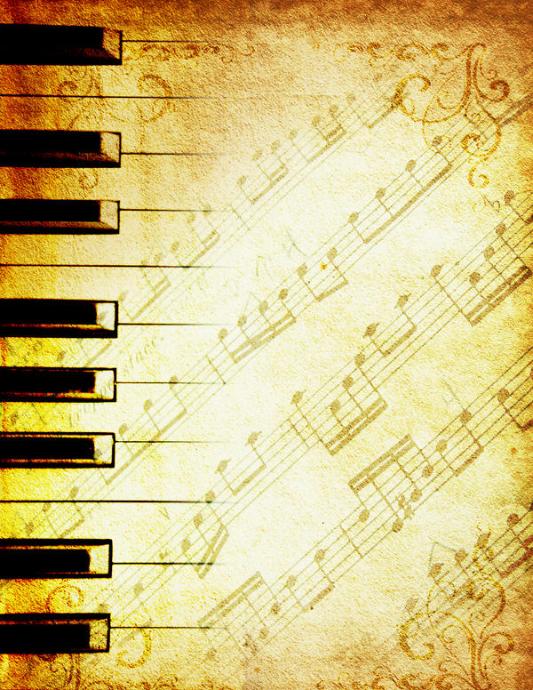 Classical Music Note Background PowerPoint