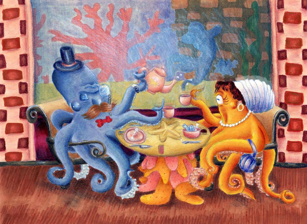 Octopi by SeveredInk