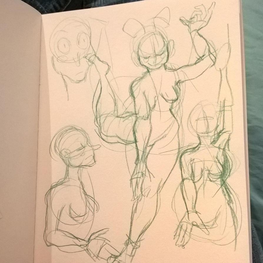 Doodles 1 by SeveredInk