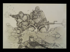 Heavy Gunners by Wry1