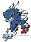 Sonic the werehog 2013