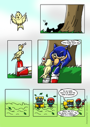 Sonic and the BirdStone chap1 P01
