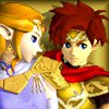 Zelda X Roy Gold-white Support Icon by Sunnyme60
