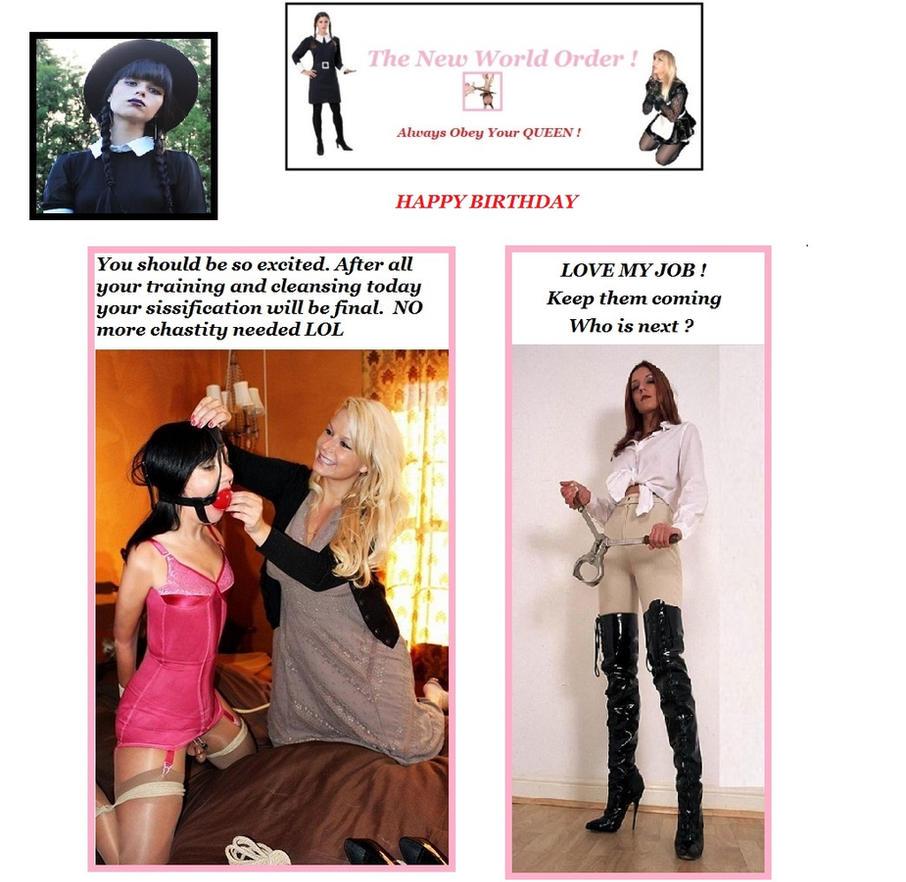 New Birthday - Girl Power by ellaprincess