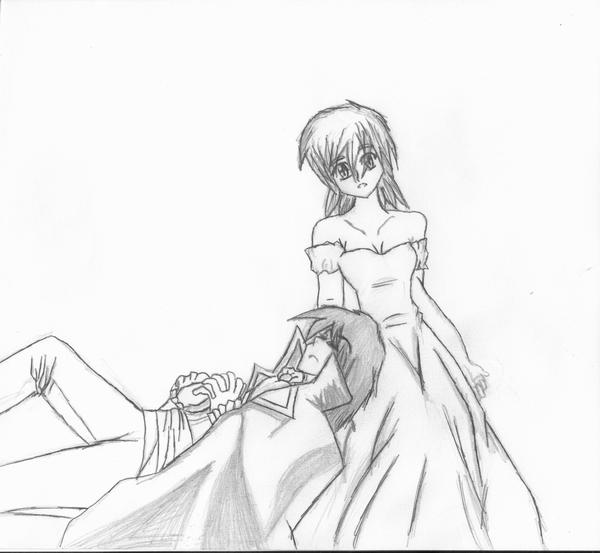 The gallery for --> Anime Couple Sleeping Drawing
