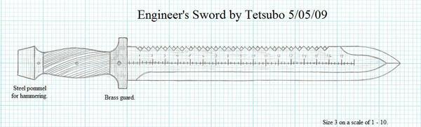 Engineer's Sword by Ironstaff