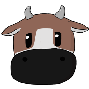 Harvest Moon Cow - Brown by PieFeathers