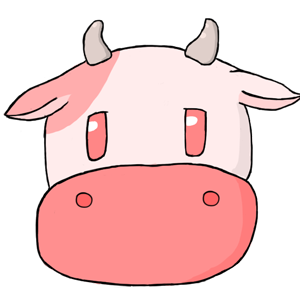 Harvest Moon Cow - Strawberry by PieFeathers