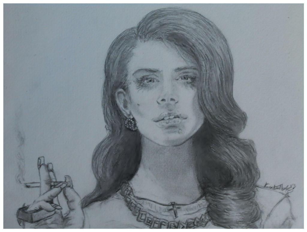 Lana Del Rey by mychemplan
