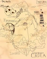 Map of Cadea (for my Original story pneuma) by miko-twelve
