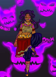 Day 14: Doom by miko-twelve