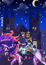 Art Request 5 Cinderella Step by miko-twelve