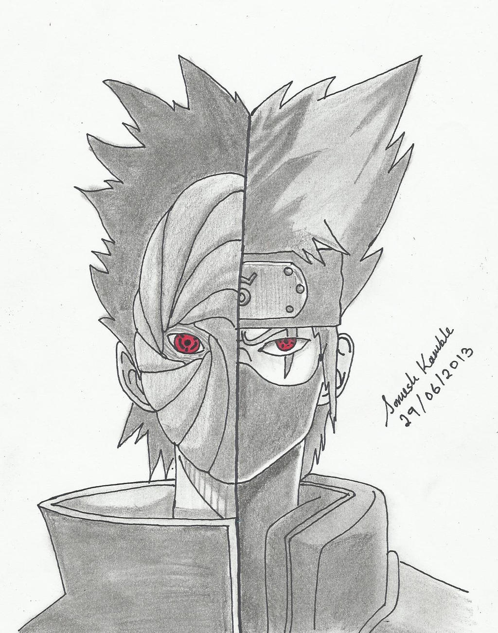kakashi obito_by somesh kamble by somesh31 kakashi obito_by somesh kamble by somesh31