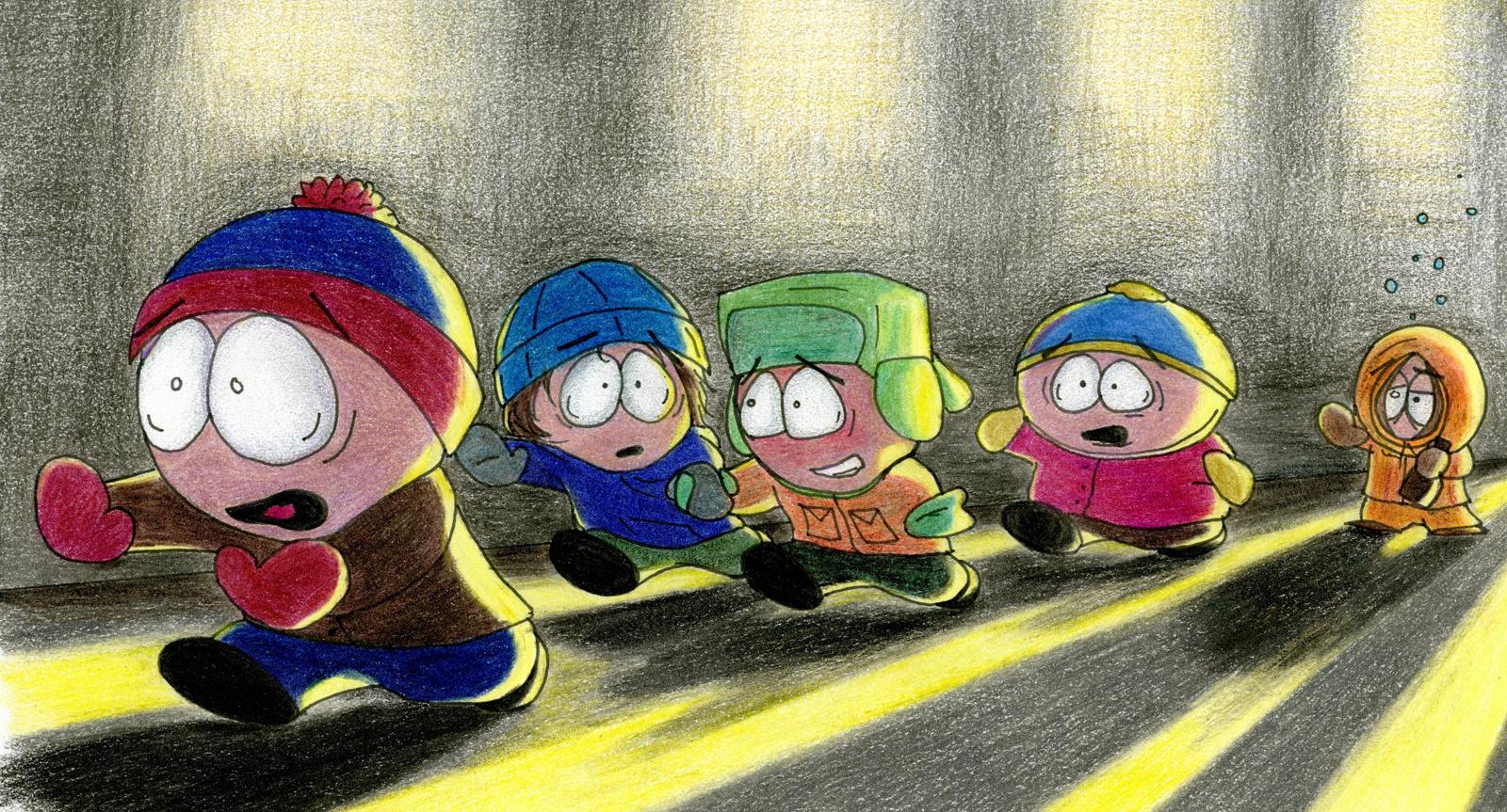 Running from Roland by ThreadbareSP