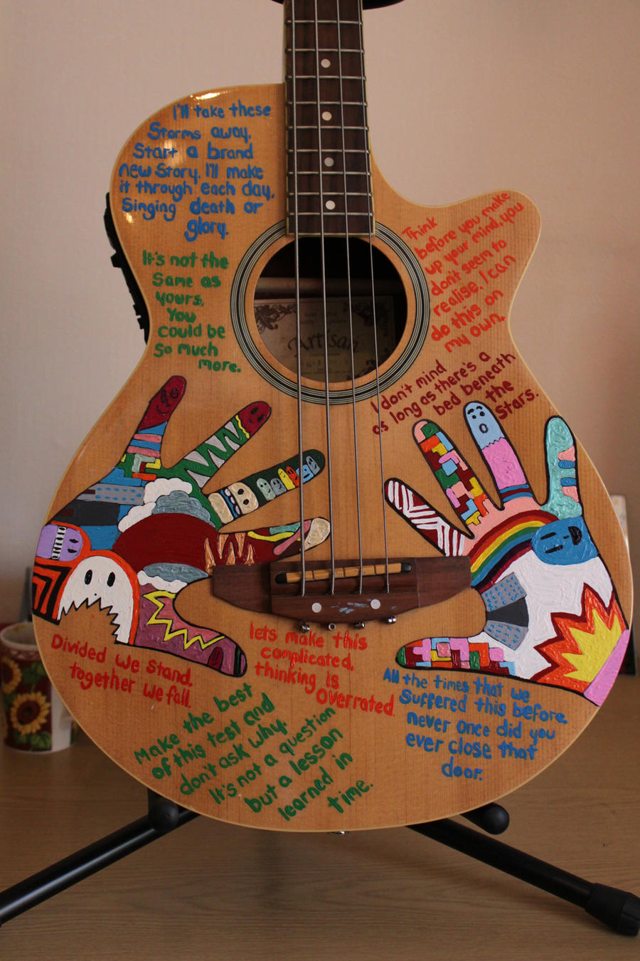 Custom Bass Guitar By The Danger Mouse