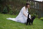 Model006 - white dress