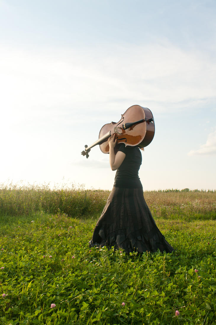 model - cello017 by akio-stock