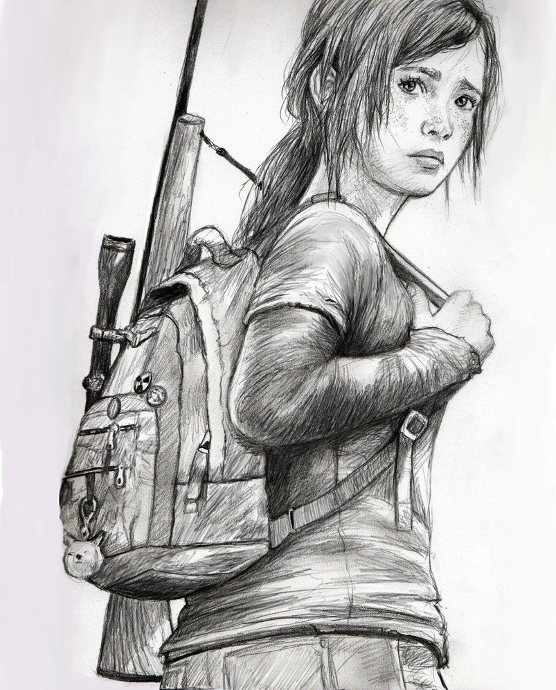 Ellie The Last Of Us By Basically By Basicallyidowork On