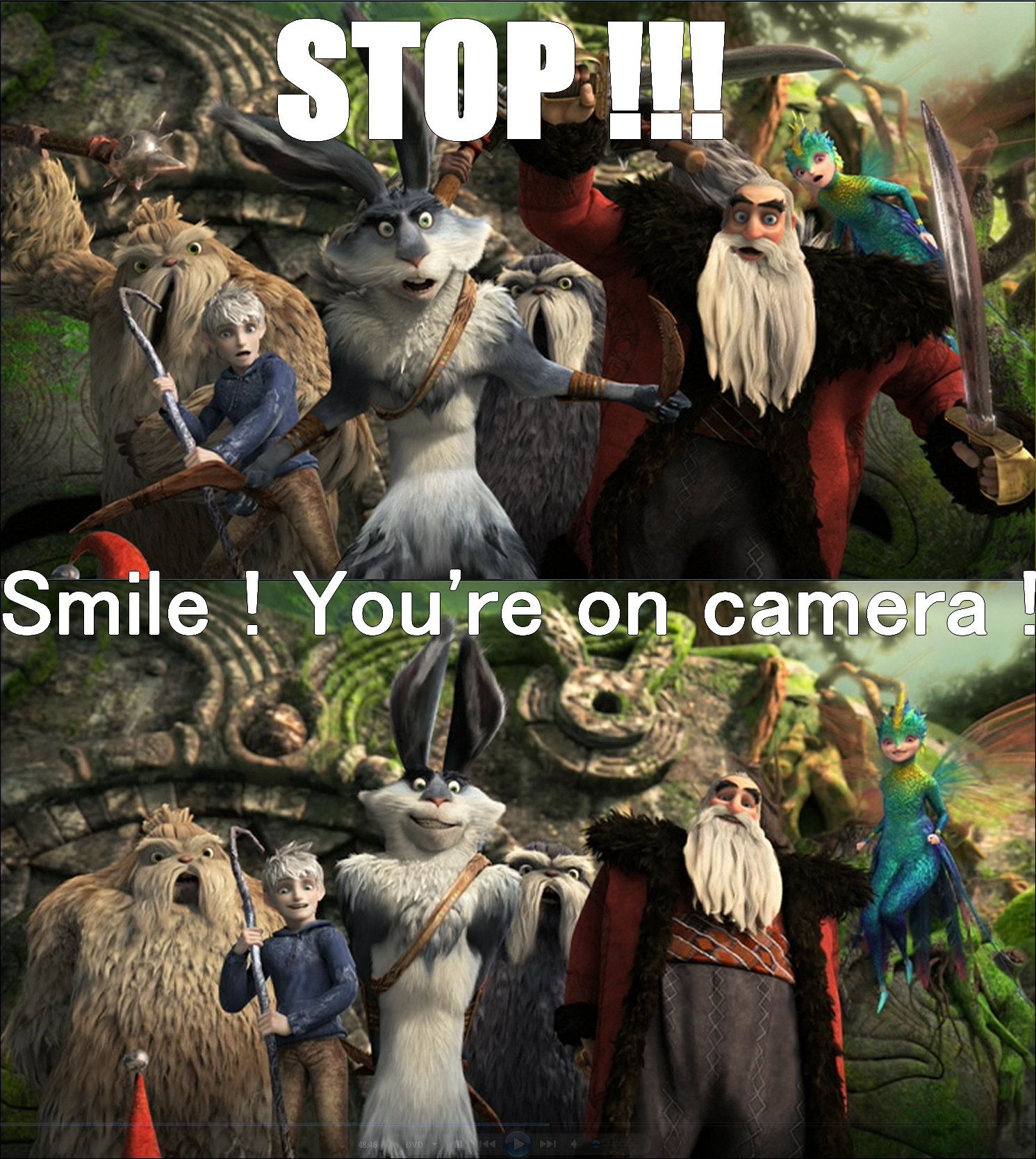 Smile ! You're on camera ! by JackFrostOverland